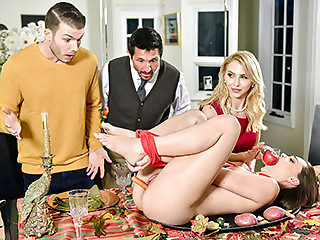 Alix Lynx & Aften Opal more Behind the scenes Friendly Adoration Have sexual intercourse Fest - FamilyStrokes