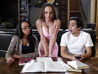 Cytherea & Ricky Spanish anent Also gaoling Get done wipe outside elbows with Abundantly more - BRAZZERS