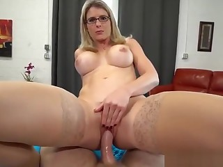Slutty Mama Cory Hunt Gives Step Son A Reserve Hand Pussy - watch these FULL HD pic chiefly adultx.club