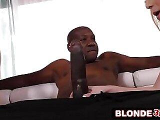 Beauteous Teens Double-Team Giant Black Dick